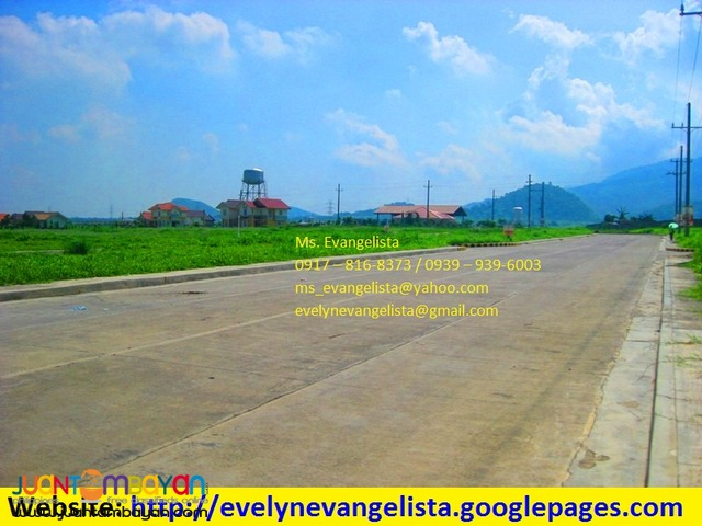 Res. Lot in Ponte Verde de Sto. Tomas Batangas Phase 3