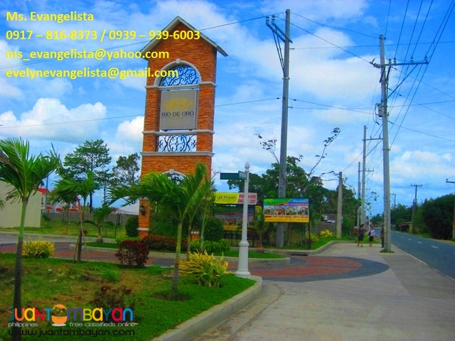 Res. Lot in Buenavista, Gen. Trias, Cavite - Rio de Oro