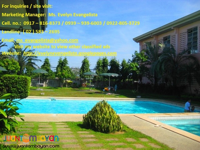 Res. Lot in Dasmarinas - Southplains phase 2A2