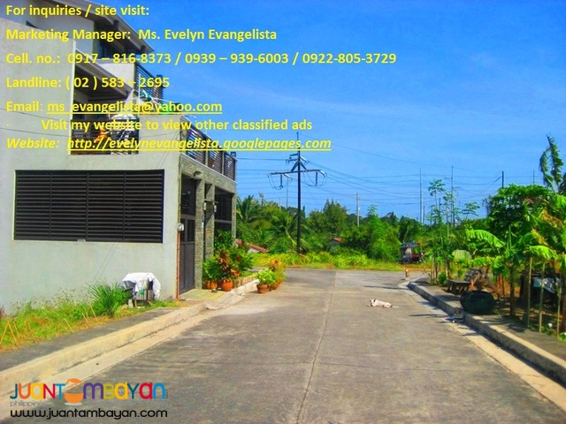 Res. Lot in Dasmarinas - Southplains phase 2E & 2F