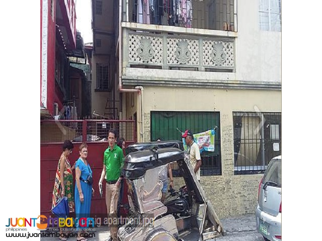 Bambang,Pasig  4 door 2 storey apartment