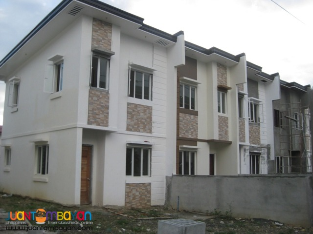 Townhouse thru bank and Pag-ibig-56 sq.m 1 car garage