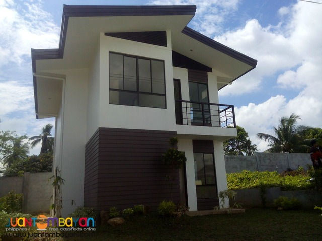 two  storey house&lot in aspen heights subd communal buhangin