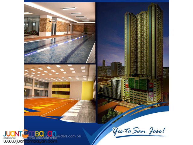 pre selling condo unit  beside gma network and mrt kamunung station