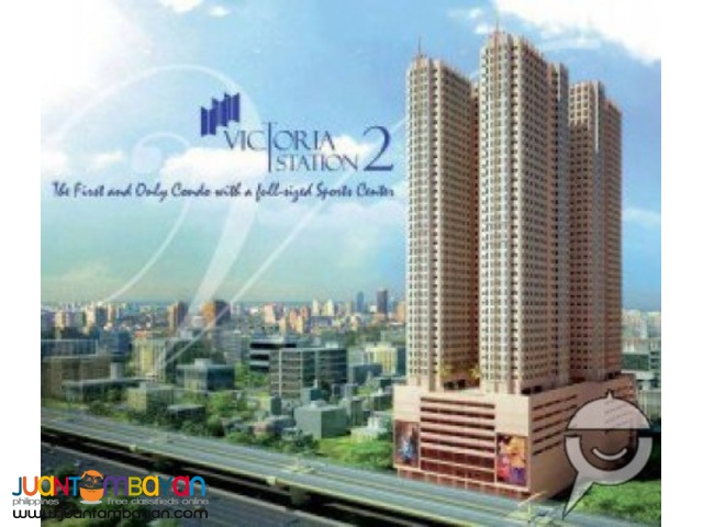 1br for as low as 6500month pre selling(victoria sports tower)