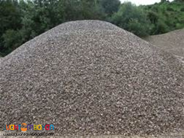Gravel and Sand For Sale