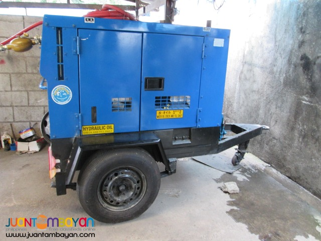 Screw Type Air Compressor with Jackhammer
