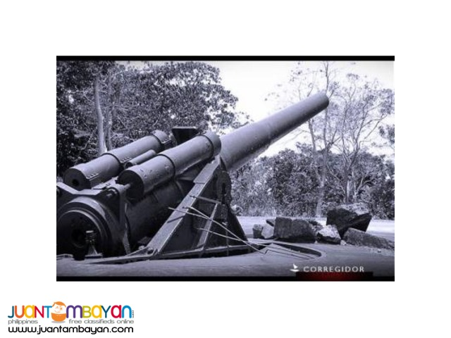 Fan of war movies or military equipment, will enjoy Corregidor tour