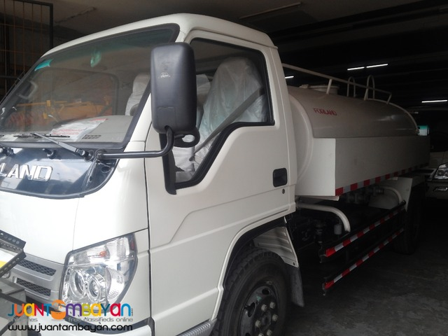 Brand new 6 wheeler water truck by Forland for sale