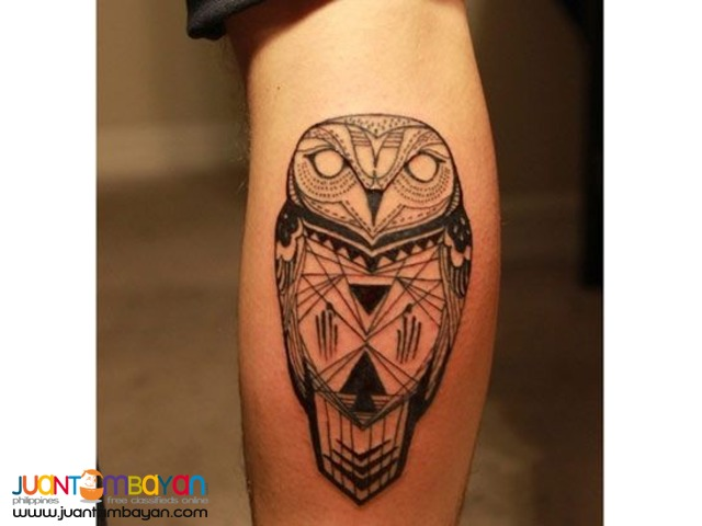 Tattoo Services/ Black, Grey or Colored