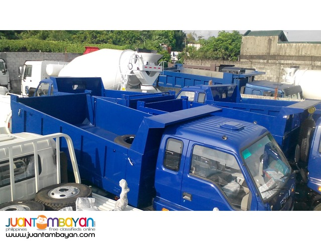 6 wheeler Dump Truck 6 cubic for sale