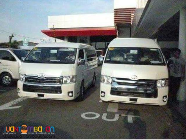 Toyota Haice Commuter, GL Grandia, Super Grandia, LXV
