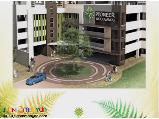 Studio Type Condo Units For Sale in Mandaluyong PIONEER WOODLANDS