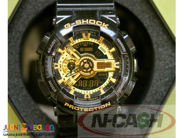Watch Pawnshop by N-CASH - Casio G-Shock GA-110GB-1ADR