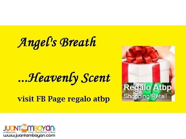 Angel's Breath Cologne and Powder
