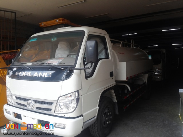 6 wheeler water truck brand new for sale