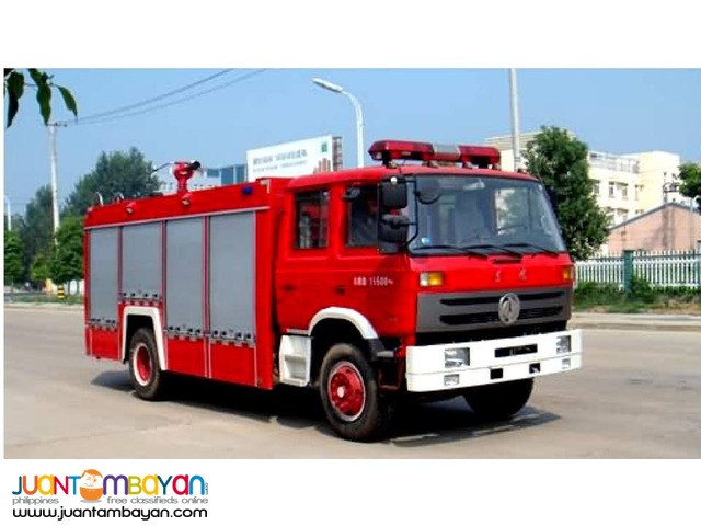 FIRE TRUCK 5 tons for sale