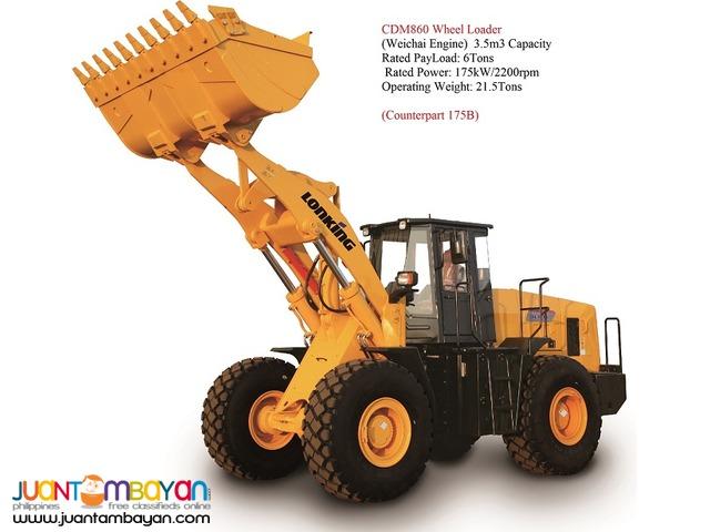 BRAND NEW CDM860 Wheel Loader