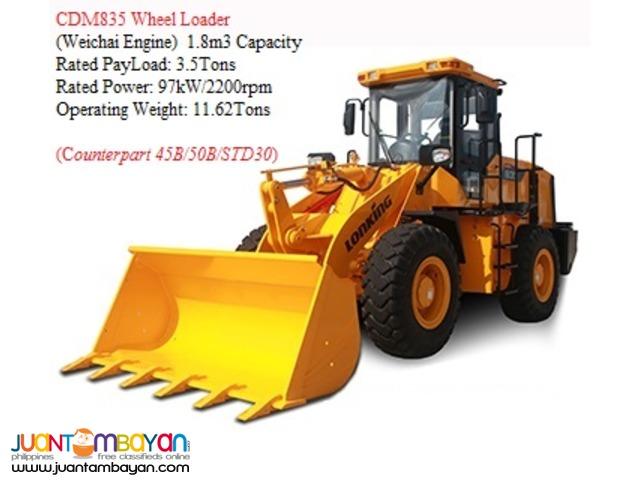 BRAND NEW CDM835 Wheel Loader