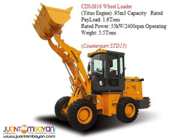BRAND NEW CDM816 Wheel Loader
