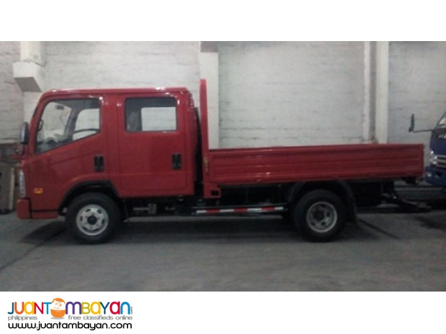 Forland 6 Wheeler Double Cab Dropside 11'