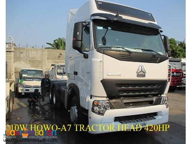 Sinotruk 10 Wheeler Tractor Head HOWO-A7