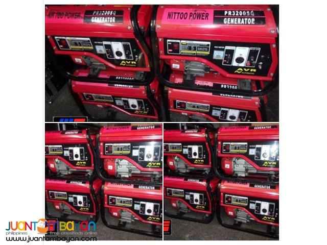 GENSET FOR RENT PACKAGE OF 3