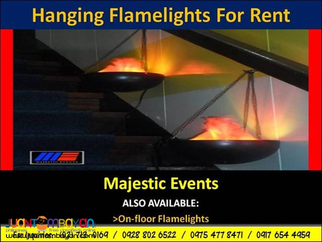 Flame Lights For Rent