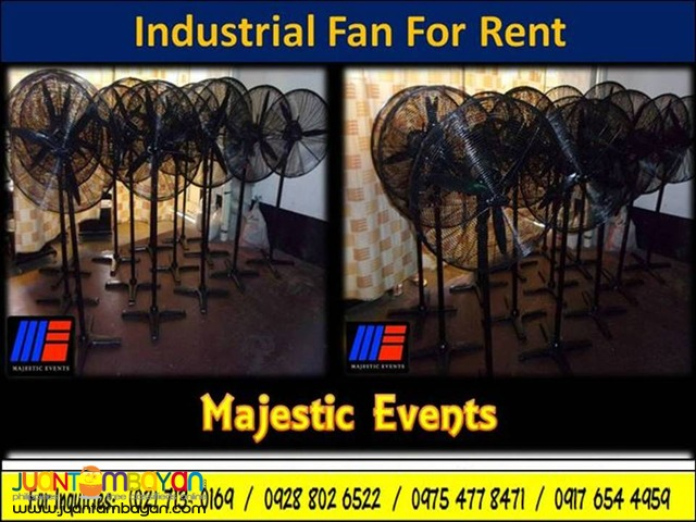 Industrial Fans For Rent