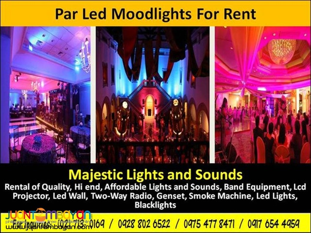 Mood Lights For Rent