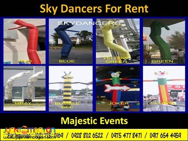 Skydancers For Rent