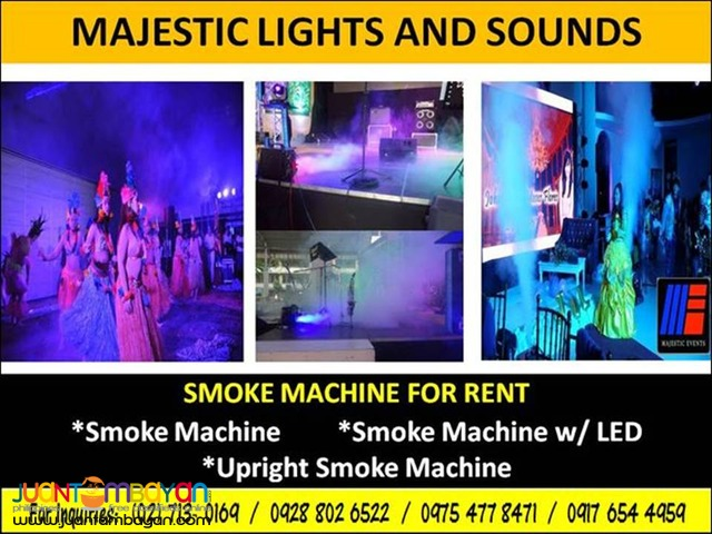 Smoke Machine For Rent