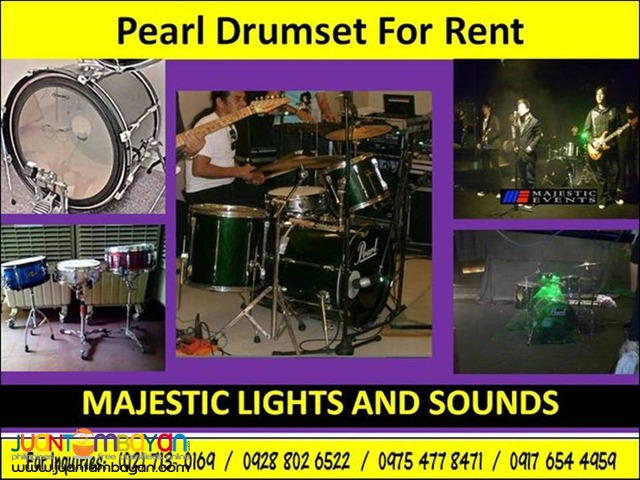 Drumset for Rent