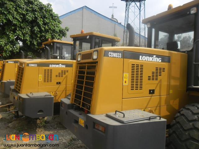 BRAND NEW CDM833 Wheel Loader