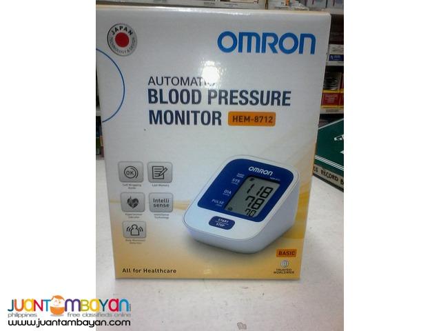 Blood Preasure Monitor OMRON HEM-8712 Digital