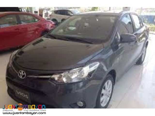 2016 Vios J manual 55K downpayment ALL IN PROMO