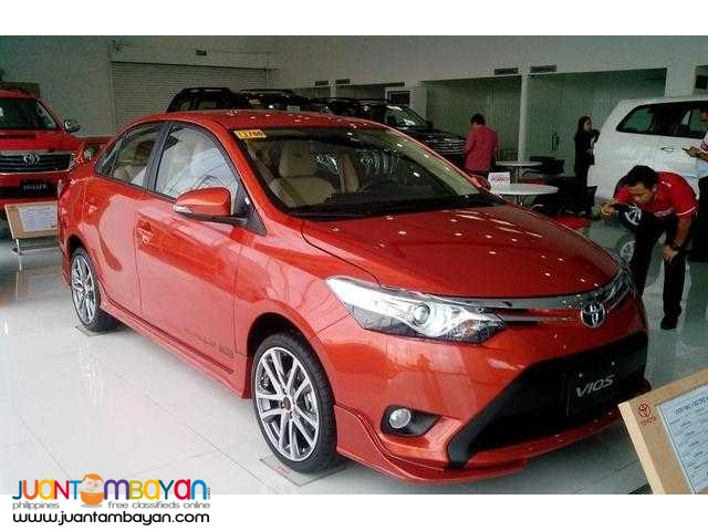 2016 Vios E automatic 60K downpayment ALL IN PROMO