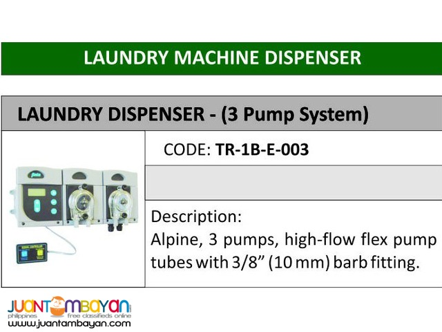 Chemical Dispenser - Oxychem Supplies & Equipment