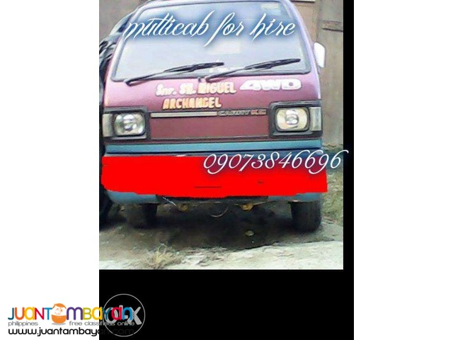 multicab for rent for lipat bahay in cebu