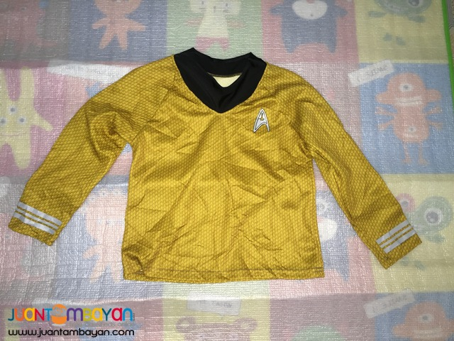 Star Trek Captain Kirk Top or Costume for kids