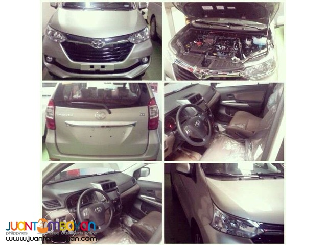 2016 new avanza J all low down promo 75K