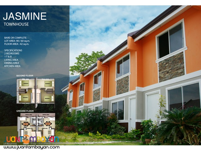 Flood Free Community Townhouse in Dasmarinas cavite
