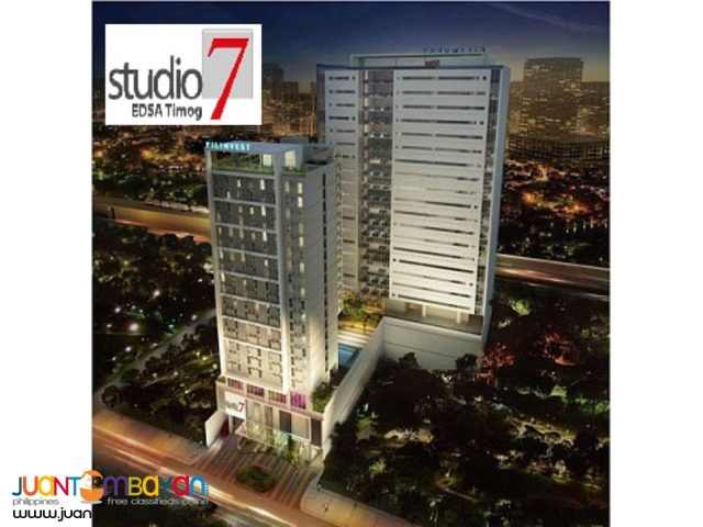 Pre-selling Studio type Condo at Q.c, 807 Edsa