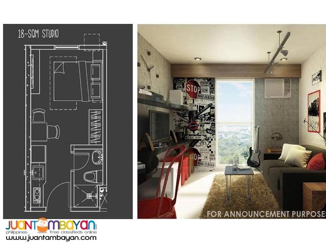 Pre-selling Studio type Condo at Q.c, 807 Edsa