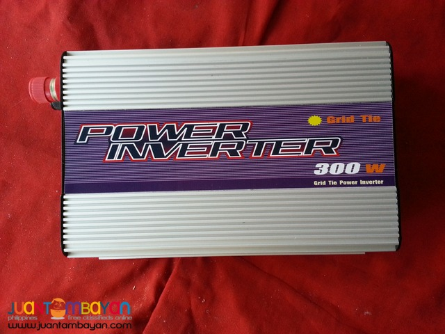 Solar Inverter 300 watt new plug in Micro Grid Tied