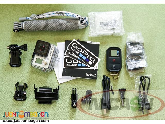 N-CASH Gadget Pawnshop - GoPro Hero 3+ Black Edition
