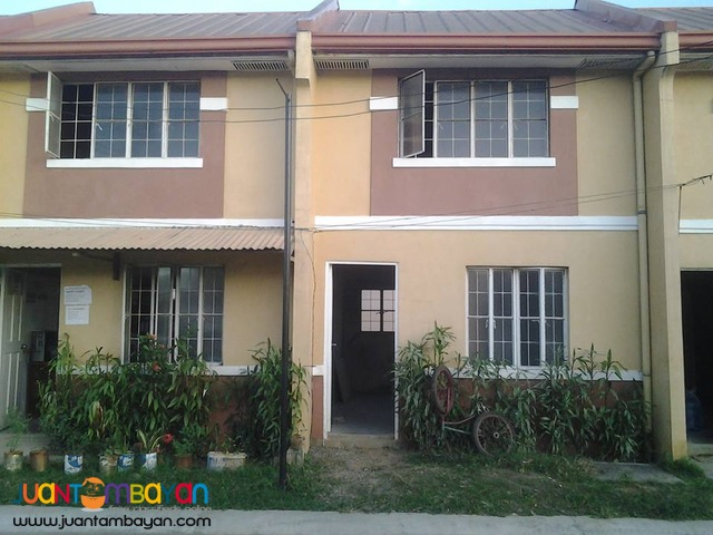 ready for occupancy townhouse in villa san mateo