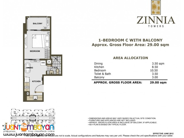 Condo in Quezon City Zinnia Towers Nr LRT Roosvelt