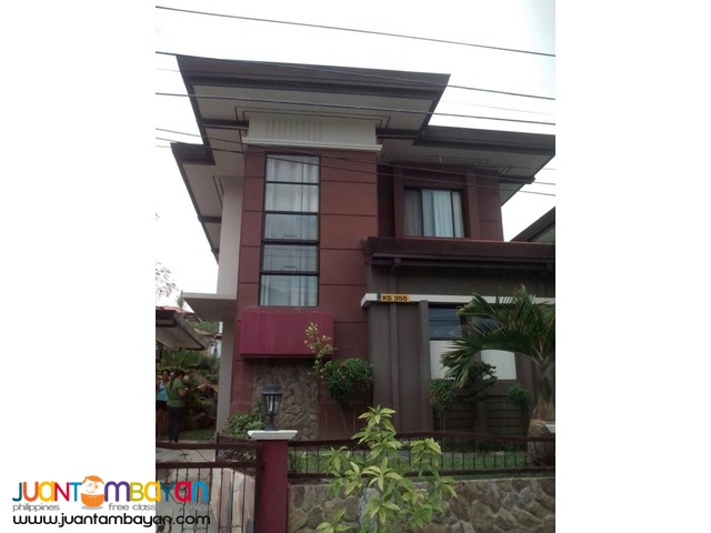 House for rent furnish in Talisay at P30k monthly