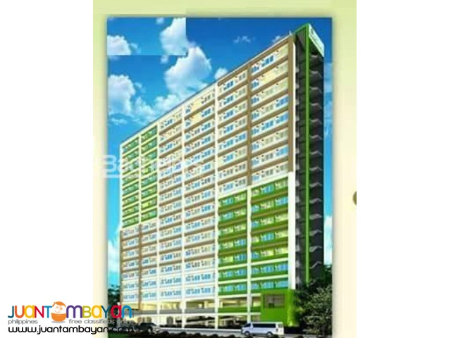 Condo Studio type for sale as low as P 5,944 monthly equity